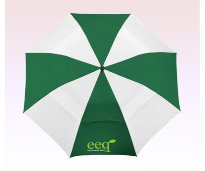 42 Inch Personalized Arc Vented Windproof Slim Stick Umbrellas