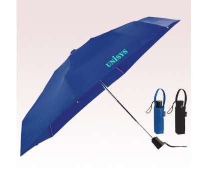 38 Inch Arc Promotional Totes 4 Fold Auto Open and Close Umbrellas