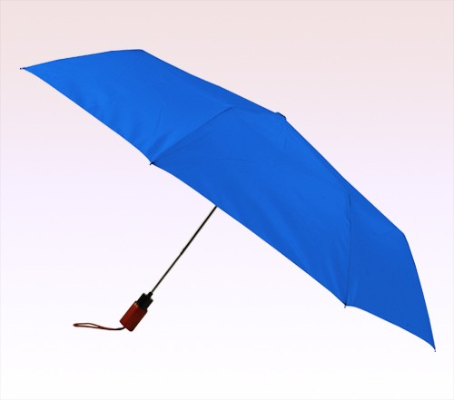44 Inch Arc Logo Imprinted Auto Open 3 Fold Umbrellas