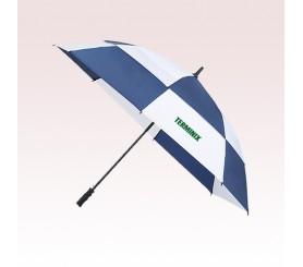 62 Inch Arc Customized Totes Auto Open Vented Golf Umbrellas