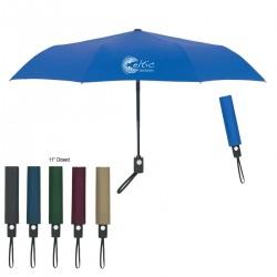 43 inch Auto Open/Close Custom Imprinted Umbrellas w/ 3 Colors