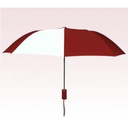 Personalized Burgundy & White 43 inch Arc Pakman Umbrellas