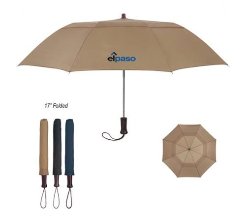 44 inch Vented Custom Promotional Umbrellas w/ 4 Colors