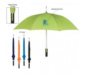 46 inch Arc Personalized Umbrellas w/ 6 Colors
