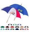 60 inch Arc Custom Imprinted Golf Umbrellas w/ 17 Colors