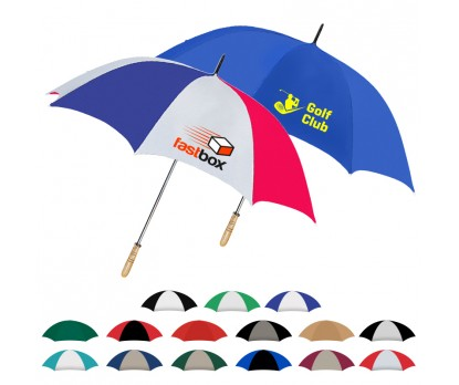 Custom Imprinted Golf Umbrellas w/ 17 Colors