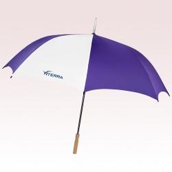 60 Inch Arc Auto Open Custom Printed Golf Umbrellas