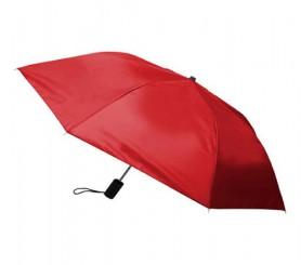 Personalized Red 40 inch Arc Economy Auto Open Folding Umbrellas