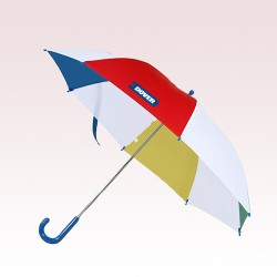 40 Inch Arc Personalized Kids Safety Umbrellas with Hook Handle