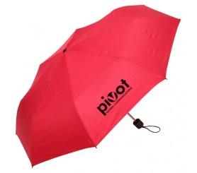 42 inch Arc Custom Spring Breeze Folding Umbrellas Red