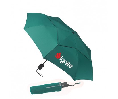 43 Inch Arc Personalized Vented Executive Mini Umbrellas