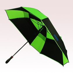 61 Inch Arc Promotional Auto Open Wind Proof Heavy Duty Square Golf Umbrellas