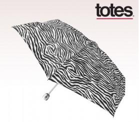 Customized Four Seasons Totes Mini Auto Open/Close Umbrella with Purse Case