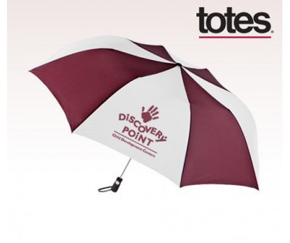 Customized Four Seasons Totes Golf Size Auto Open Folding Umbrellas