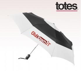 Customized Totes Auto Open/ Close Color Block Umbrellas