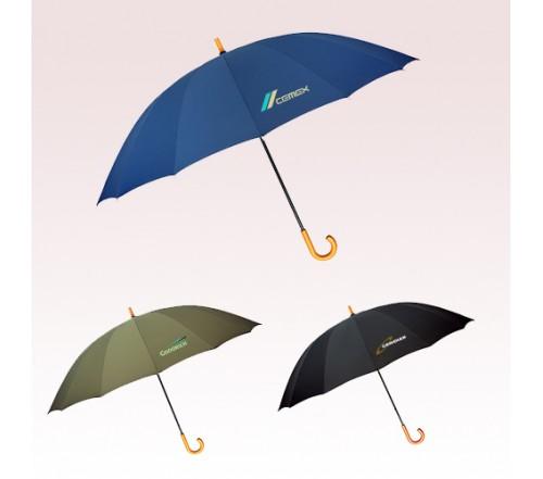 60 Inch Arc Custom Printed Doorman Umbrellas