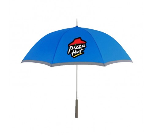 46 inch Arc Custom Printed Umbrellas w/ Strap 5 Colors