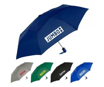 42 Inch Arc Custom Printed Vented Mighty Mite Umbrellas