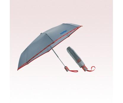 42 Inch Arc Personalized New Balance Auto Open/Close Folding Umbrellas