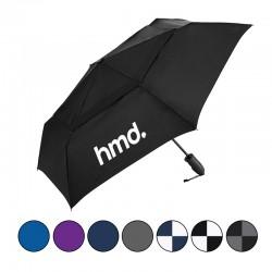 43 Inch Arc Custom Windjammer® Vented Auto Open/Close Compact Umbrellas