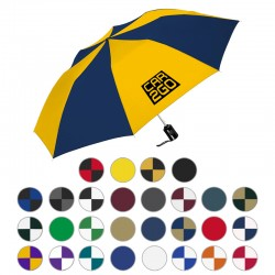 44 Inch Arc Customized Auto Open Compact Umbrellas