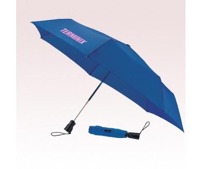 44 Inch Arc Personalized Totes 3 Fold Auto Open/Close Umbrellas