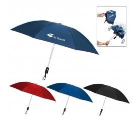 46 Inch Arc Customized Renegade Auto Open/Close Inverted Umbrellas