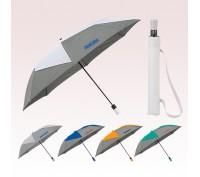46 Inch Arc Personalized Vented Auto Open Folding Pinwheel Umbrellas
