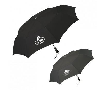 54 Inch Arc Custom Windpro® Vented Auto Open/Close Jumbo Compact Umbrellas