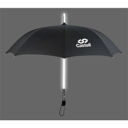 46 Inch Arc Promotional LED Lighted Shaft Umbrellas