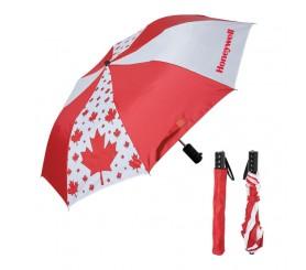 42 Inch Arc Custom Printed Folding Canada Umbrellas