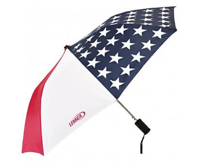 Printed Patriot Folding Umbrellas