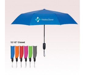 42 Inch Arc Promotional Telescopic Wave Umbrellas