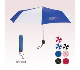 43 Inch Arc Personalized Super-Mini Telescopic Folding Umbrellas
