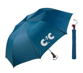 56 Inch Arc Customized Telescopic Folding Umbrellas