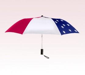 Personalized 42 inch Auto-Open Patriot Folding Umbrella
