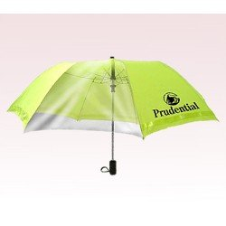 Personalized 46 inch Extra Large Auto-Open Safety Folding Umbrella