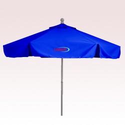7 Ft Promotional Aluminum/Fiberglass Market Umbrellas with Valances