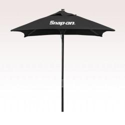 7 ft Wood Square Promotional Market Umbrella w/ 2 Colors