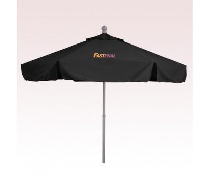 9 Ft Custom Printed Aluminum/Fiberglass Market Umbrellas