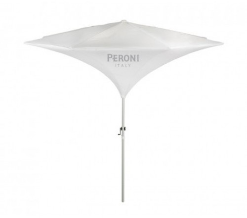 9 ftx8 panel personalized Tulip Market Umbrella with Crank