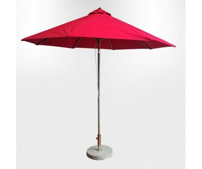 2.7x2.7m Custom Printed Tilting Patio Umbrellas
