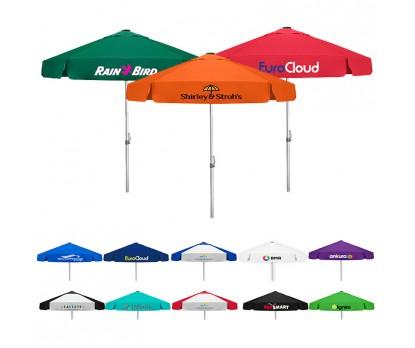 7 Ft Custom Printed Vented Bistro Patio Umbrellas