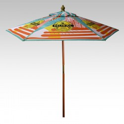7 Ft Customized Full Color Market Umbrellas