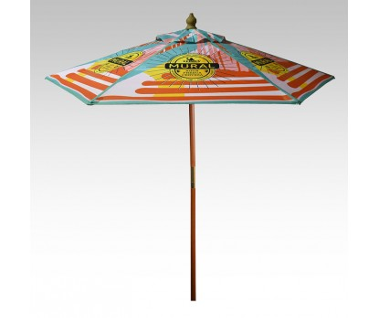 Full Color Market Umbrellas
