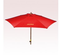 7 Ft Personalized Wood Look with Tilt Umbrellas