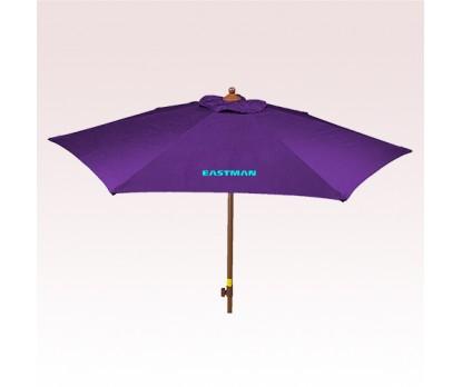 Wood Look with Tilt Umbrellas