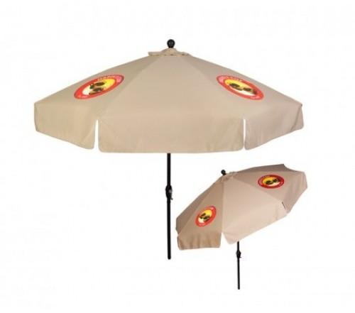 9 ft x 8 panel patio umbrellas with crank w 4 colors - Patio Umbrellas