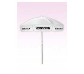 Promotional 6.5 Ft Digital Patio-Cafe Umbrellas
