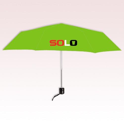 Personalized 41 inch Full-size Manual Open Folding Umbrella